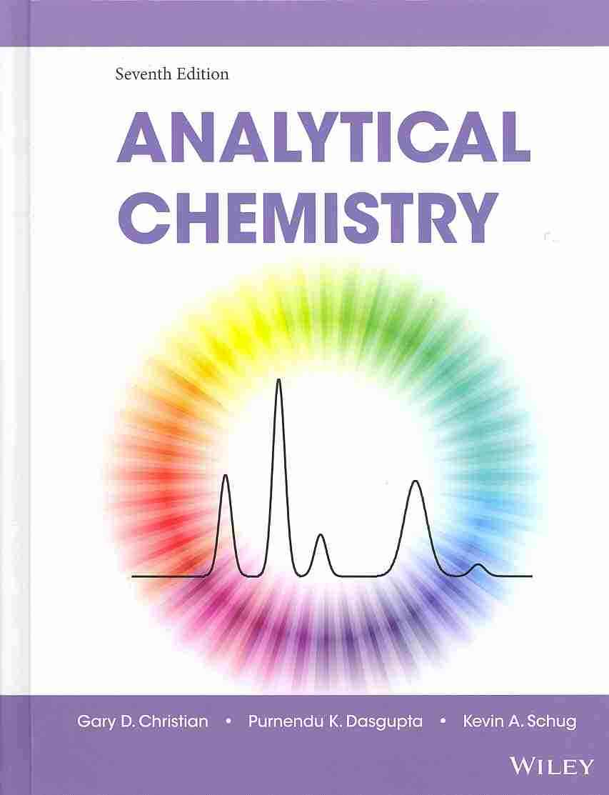 Analytical Chemistry By Christian, Gary D.